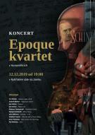 Koncert vážné hudby Epoque kvartet