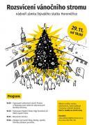 Rozsvěcení vánočního stromu Horoměřice 1
