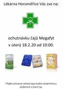 Ochutnávka čajů Megafyt v lékárně Horoměřice 1